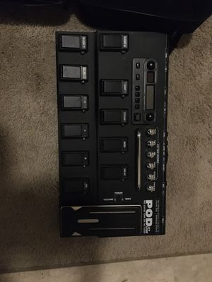 Pod XT Live Pedal Board for Sale in Ayden, NC