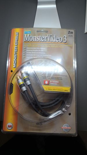 Monster Video 3 S-Video 6.6 ft for Sale in Aurora, IL