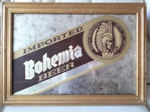 Vintage Bohemia beer sign for Sale in Chicago, IL