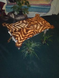 CUSTOM ALL WOOD TIGER COFFEE TABLE ONE OF A KIND for Sale in La Verne,  CA