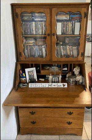 Antique dresser desk for Sale in Fontana, CA