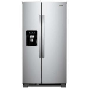 Whirlpool 25 cu.ft side by side refrigerator stainless steel for Sale in Washington, DC