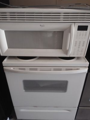 Whirlpool off white appliances /Range/Dishwasher/microwave for Sale in Phoenix, AZ