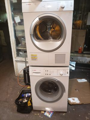 Bosch 24 inches washer and dryer for Sale in San Francisco, CA
