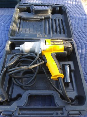 DEWALT - 7.5 Amp 1/2 in. Corded Impact Wrench with Hard Case for Sale in Las Vegas, NV