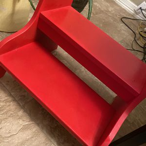 Step Stool - Red - Super Cute for Sale in Oklahoma City, OK