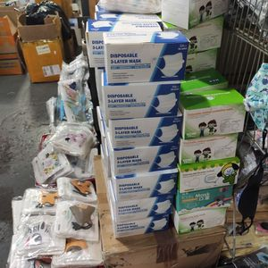 Wholesale only Lot of 1000 boxes Brand New in Box Surgery Face Masks Minimum order: 50 boxes 50pcs in a Brand New Box Only $3 per box for Sale in Brooklyn, NY