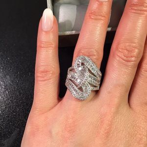 Gorgeous Silver Trendy Ring - MultiCut for Sale in Indianapolis, IN
