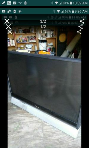 "Panasonic tv 52"" for Sale in Dallas, TX"