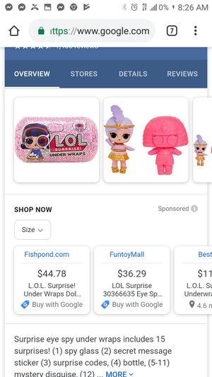 Lol dolls underwrap for Sale in DeSoto, TX