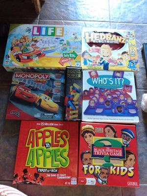 7 new family boardgames for Sale in Kissimmee, FL