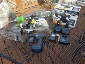 Kawasaki 19.2 power tools for Sale in Union City, GA