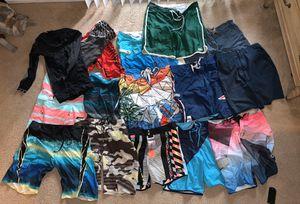 18 Men's Boardshorts Size 32 -34 - Worth $1,500: Quiksilver, Oakley, Billabong, Patagonia for Sale in Dana Point, CA