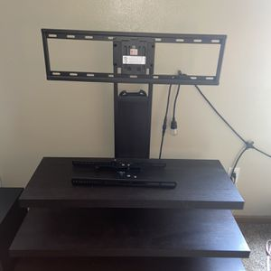 TV Stand With Mounting For TV's Up To 55 Inches for Sale in Belleville, IL