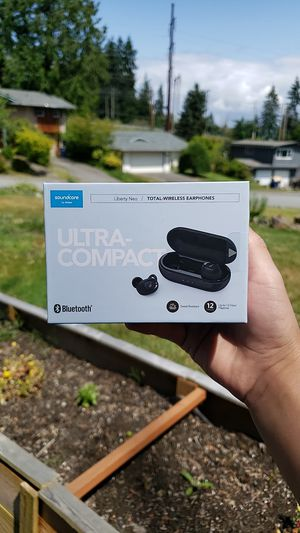 Soundcore bluetooth earbuds for Sale in Everett, WA