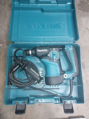 Makita hammer drill and bits for Sale in Fresno, CA