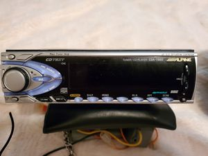 Alpine 7965 competition car stereo/Alpine MRV-F540 700 watt amp Scan Speak speakers 8 inch for Sale in US