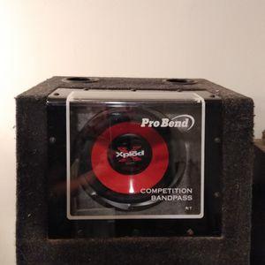 "Sony Xplod Subwoofer 10"" 700w & Rockford Fosgate Punch 150s Amp for Sale in Browns Mills, NJ"