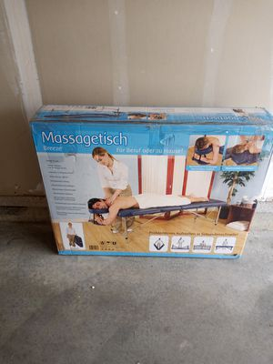 A massagetisch breeze table for sale for Sale in Kansas City, MO