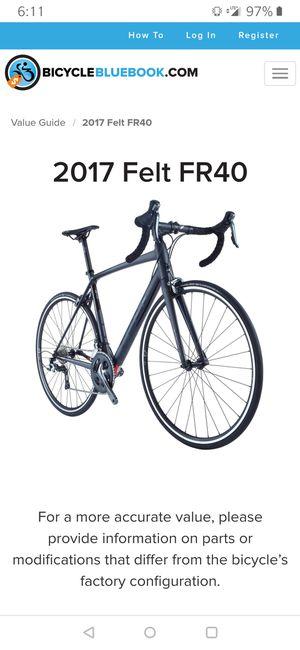 FR40 2017 47cm road bike for Sale in Miramar, FL
