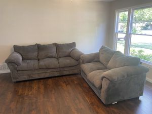 Grey couches for Sale in Hurst, TX