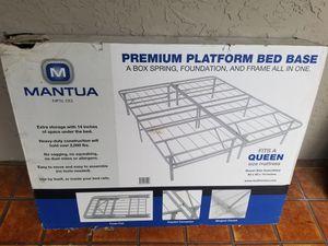 New Queen platform bed frame for Sale in Tampa, FL