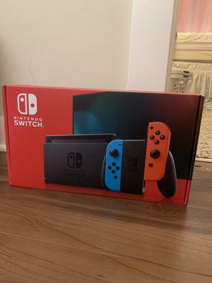 Nintendo Switch V2 Neon Red/Neon Blue- brand new for Sale in Atlanta, GA