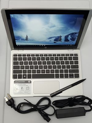 "HP 10-p018wm Detachable Laptop, 10.1"" IPS Touch Display, Windows 10 Home, Intel Atom x5-Z8350 Processor, 4GB Ram, 64GB eMMC Storage, HP Active Pen for Sale in Brooklyn, NY"