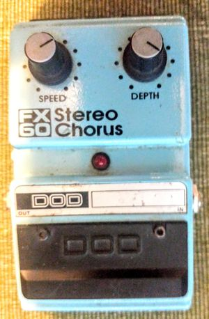 Vintage 80s DOD FX60 Stereo chorus pedal for Sale in Edgewood, WA