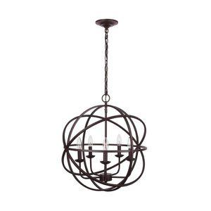 Sarolta Sands 5-Light Bronze Orb Chandelier by Home Decorators Collection NEW for Sale in Plantation, FL