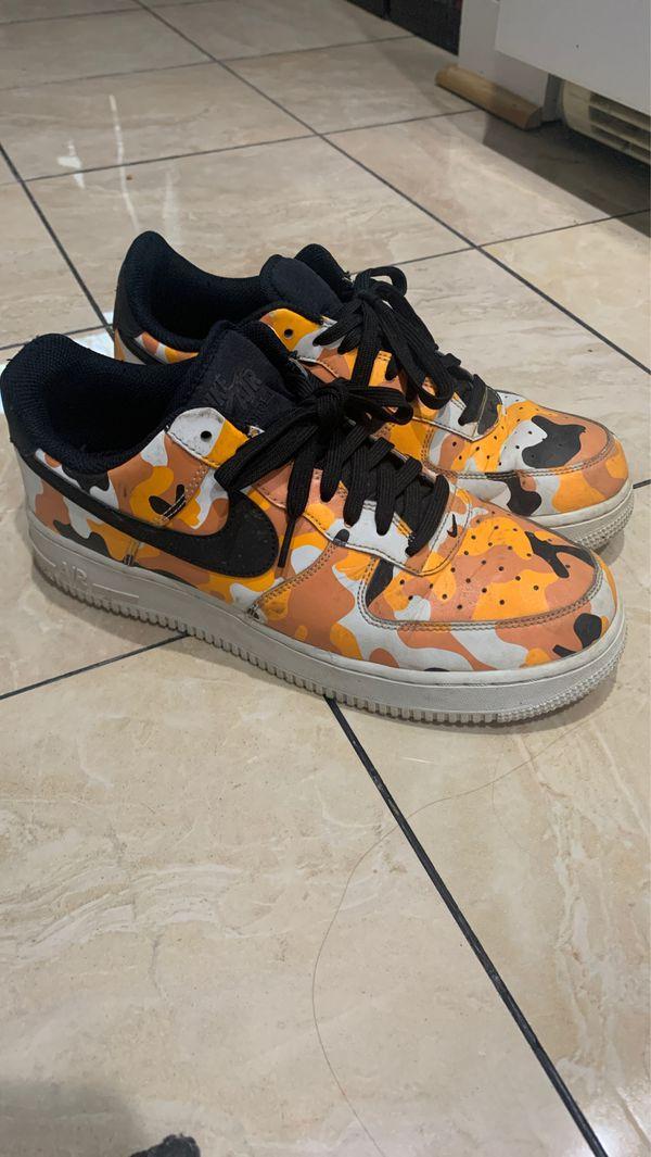 Air Force 1 07 LV8 'Orange Camo'