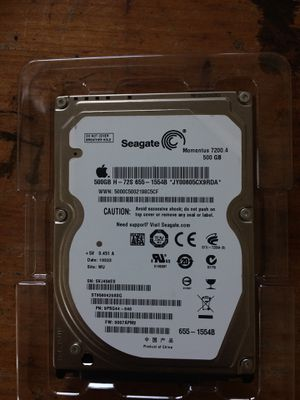 500GB seagate HD Mac or Windows laptop for Sale in Austin, TX