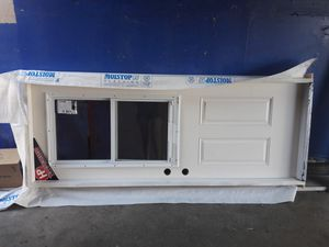 New garage door whith frame include for Sale in Fullerton, CA