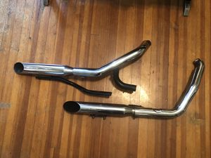 07 Harley Dyna Super Glide OEM exhaust for Sale in Richmond, VA