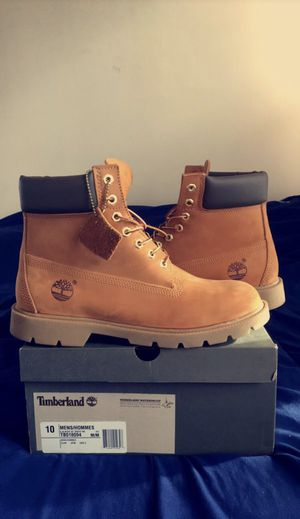 Timberland Sz 10 Mens 6 inch boot buttas WORN 2x for Sale in Arlington, VA