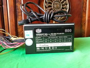 Cooler Master Rs-600-pr-e3 600w Power Supply for Sale in Pomona, CA
