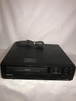 Orion VCR VHS Tape Player Recorder Home Video VRO400- Tested Working -No Remote for Sale in Atlanta, GA