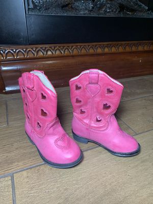 Toddler Jessica Simpson cowgirl boots size 6M for Sale in Dallas, TX