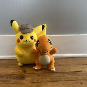 Detective Pikachu and Charmeleon for Sale in Chicago, IL