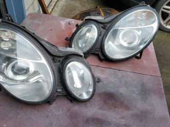 2005 Mercedes E55 AMG OEM HEADLIGHTS for Sale in Anderson Island,  WA