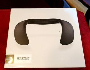 NEW Bose Soundwear Companion Wireless Wearable Speaker - Black for Sale in Gahanna, OH