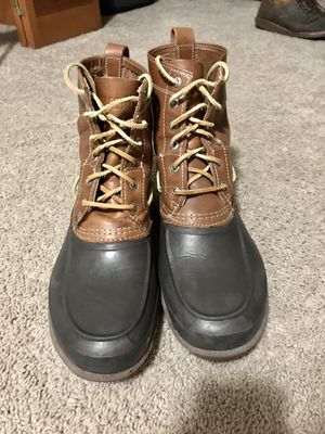 Sperry Tan/Brown Decoy Rain Boots (STS13457) for Sale in Bowersville, GA