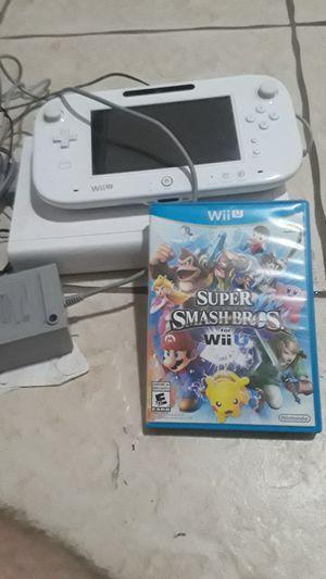 Nintendo Wii U with Super Smash Bros!! for Sale in Miami, FL
