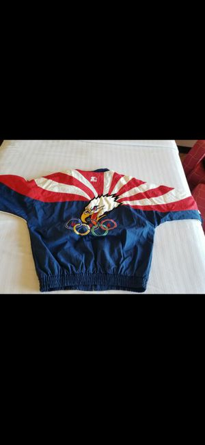 LARGE ! *VINTAGE* STARTER OLYMPIC JACKET for Sale in Delray Beach, FL