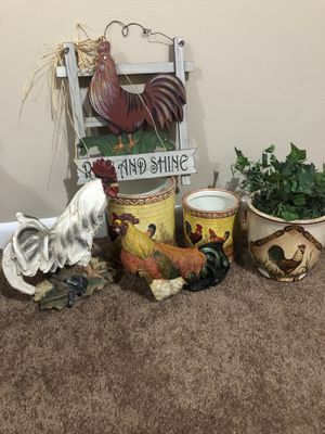 Rooster kitchen decor for Sale in US