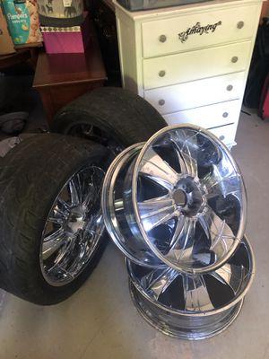 Chrome wheels 5 LUG UNIVERSAL for Sale in Lawrenceville, GA