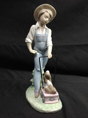 Lladro Saturday's Figurine Boy & Puppy Dog MINT for Sale in Belleair Beach, FL
