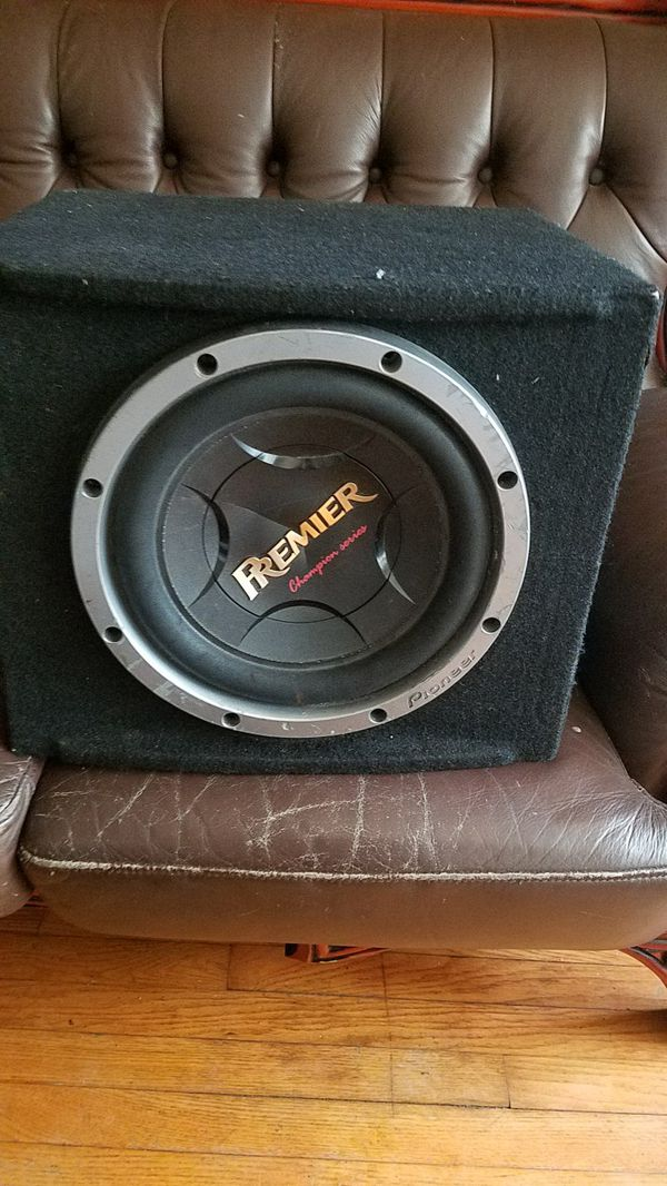sub woofer 12in