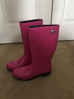 Ugg Size 10 rain boots for Sale in Norfolk, VA