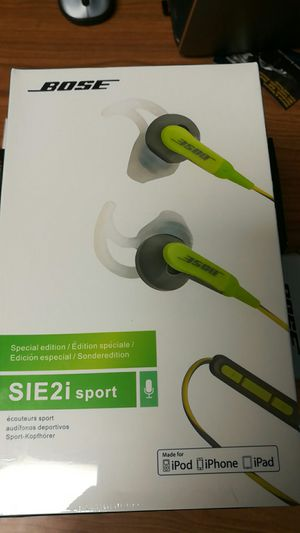 Bose sie2i Sports headphones for Sale in Adelphi, MD